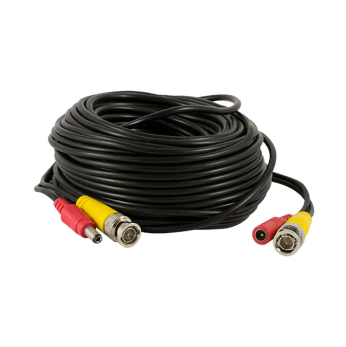 Cable video/DC de BNC(M) DC(M) a BNC(M) DC (H) 20metros